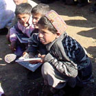 The American Red Cross is overseeing America's Fund for Afghan children. Photo courtesy American Red Cross.
