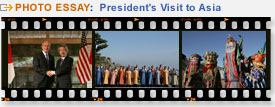 View photo essays from the President's Visit to Asia