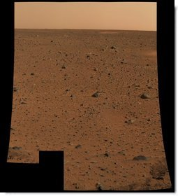 First Color Image from Spirit. This is the first color image of Mars taken by the panoramic camera on the Mars Exploration Rover Spirit. It is the highest resolution image ever taken on the surface of another planet. Photo by NASA/JPL.