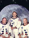 Neil Armstrong and Michael Collins