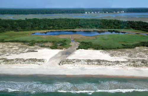 The South Carolina State Parks and several community groups rallied together to reopen the inlet.