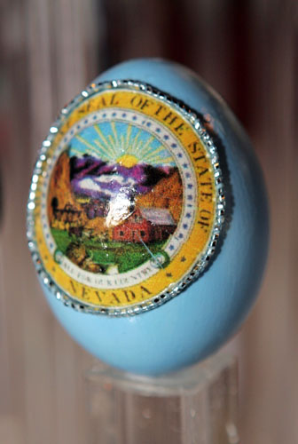 painted egg by Ms. Natalie Stedman, Sparks, NV