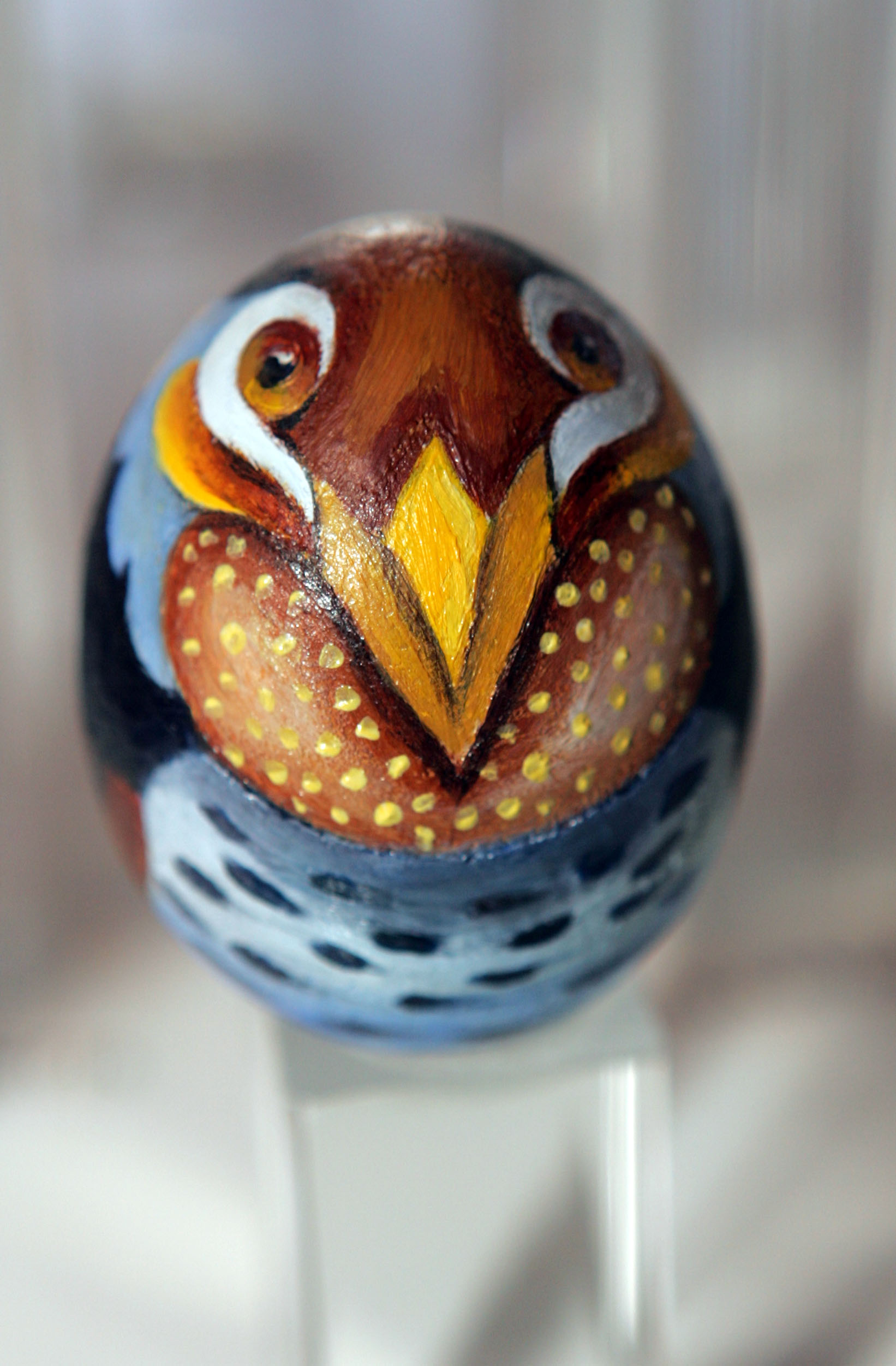 painted egg by Ms. Elizabeth Masters, Elizabethtown, PA