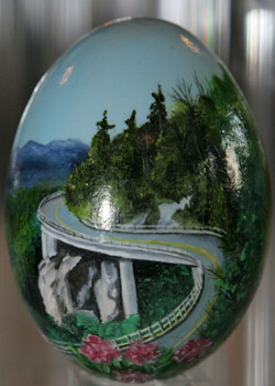 Painted egg by Wendy Payseur