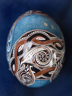 Painted egg by Stormy Heiner