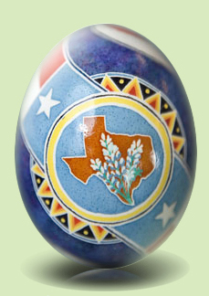 Texas State Easter Egg