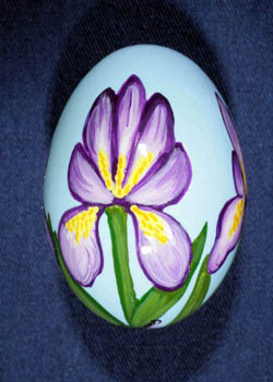 Painted and Decorated Egg Representing Tennessee