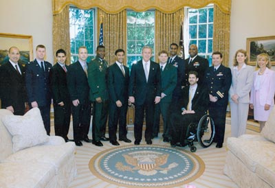 White House Fellows: 2002-03