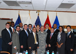 2006-2007 Fellows with General John Abizaid at CENTCOM
