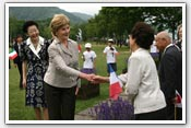 Link to Mrs. Bush's G8 Trip 2008