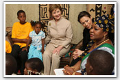 Link to Mrs. Bush's 2008 Africa Visit