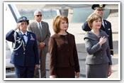 Link to Mrs. Bush's NATO Trip 2008