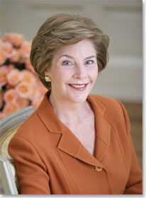First Lady Laura Bush - White House Photo by Susan Sterner