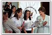 Link to Mrs. Bush's Visit to Costa Rica 2006