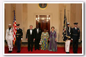 State Visit of the President of Ghana and Mrs. Kufuor 2008