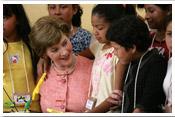 Link to Mrs. Bush's Latin America Photo Essay