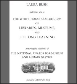 The White House Colloquium on Libraries, Museums, and Lifelong Learning