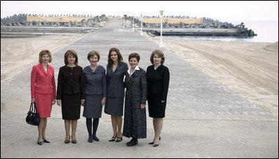 Mrs Bush S Nato Summit 2008
