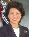 Photo of Elaine Chao, Secretary of Labor