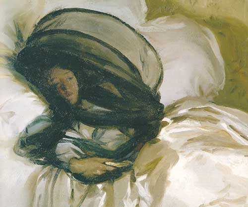 The Mosquito Net By John Singer Sargent