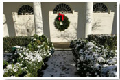 A Wintery White House 2005