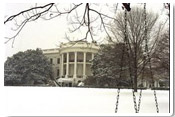 Winter at the White House