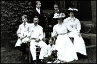 When Theodore and Edith Roosevelt moved into the White House in 1901, they brought six children with them (Alice, the oldest is not pictured). The crowded living and office space in the White House led President Roosevelt to construct a new office building in 1902. Today that building is called the West Wing.