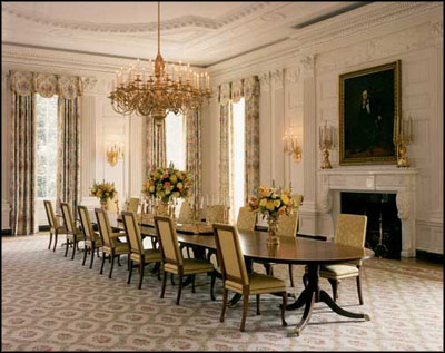 The state dining room for David james kitchen designs