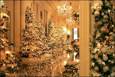 white house christmas decorations 2004 - Christmas Hall Decorations