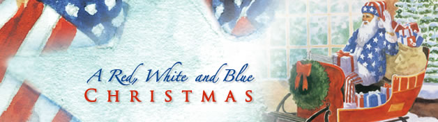 A Red, White and Blue Christmas