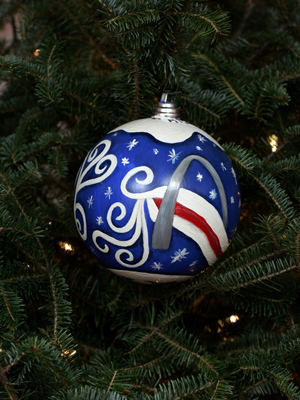 Missouri Congressman Russ Carnahan selected artist Steve Beutel II to decorate the 3rd District's ornament for the 2008 White House Christmas Tree