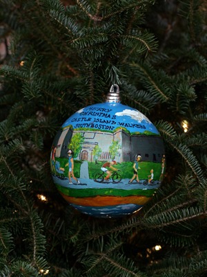 Massachusetts Congressman Stephen Lynch selected artist Daniel McCole to decorate the 9th District's ornament for the 2008 White House Christmas Tree.
