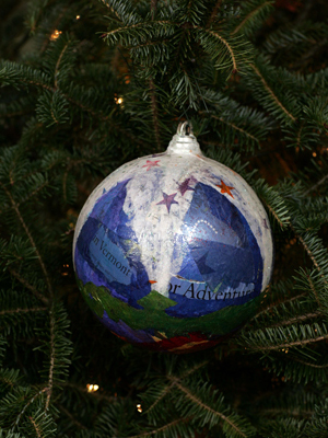 Vermont Senator Pat Leahy selected artist Maggie Neale to decorate the State's ornament for the 2008 White House Christmas Tree.