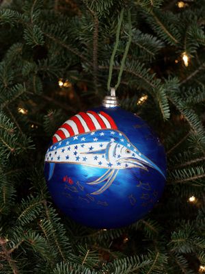 Florida Congressman Tim Mahoney selected artist Niko Farnsworth to decorate the 16th District's ornament for the 2008 White House Christmas Tree