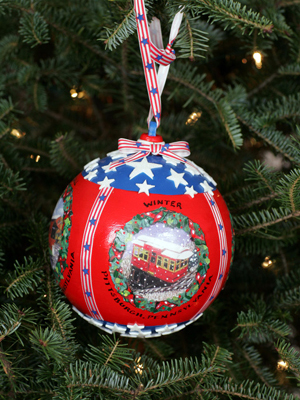 Pennsylvania Congressman Tim Murphy selected artist Susan Castriota-Hamilton to decorate the 18th District's ornament for the 2008 White House Christmas Tree.