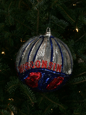 Wisconsin Congressman Paul Ryan selected artist Kristine Moser to decorate the 1st District's ornament for the 2008 White House Christmas Tree.