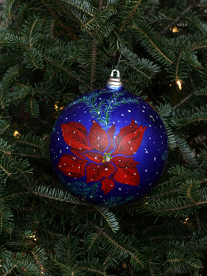 West Virginia Congressman Nick Rahall selected artist Debrin L. Jenkins to decorate the 3rd District's ornament for the 2008 White House Christmas Tree