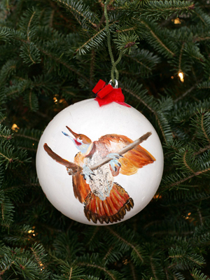 Alabama Congressman Artur Davis selected artist Antonese Thomas to decorate the 7th District's ornament for the 2008 White House Christmas Tree.