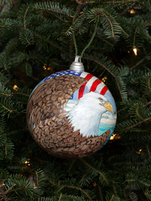 Florida Congressman Allen Boyd selected artist Paul Brent to decorate the 2nd District's ornament for the 2008 White House Christmas Tree.