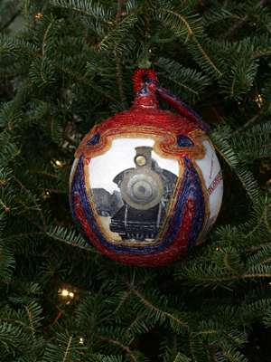 Pennsylvania Congressman Paul Kanjorski selected artist Georgiana Bart to decorate the 11th District's ornament for the 2008 White House Christmas Tree