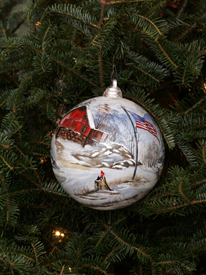 White House Christmas Tree Ornaments