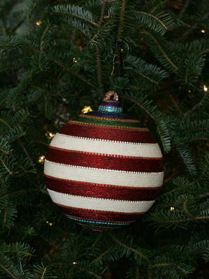 Iowa Congressman Dave Loebsack selected artist Tom Wegman to decorate the 2nd District's ornament for the 2008 White House Christmas Tree.
