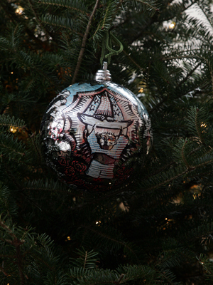 Arizona Congressman Jeff Flake selected artist Larry Yanez to decorate the 6th District's ornament for the 2008 White House Christmas Tree.