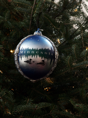 Minnesota Congresswoman Michele Bachmann selected artist Kirk D. Ericksen to decorate the 6th District's ornament for the 2008 White House Christmas Tree.