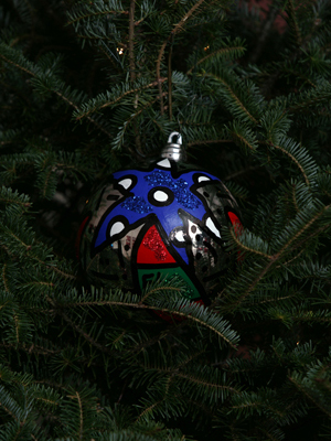 Florida Congresswoman Debbie Wasserman Schultz selected artist Tammy Kleinman to decorate the 20th District's ornament for the 2008 White House Christmas Tree