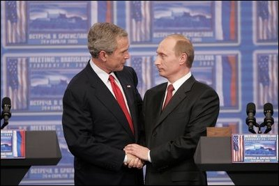 George W. Bush 2001 Signing Tax Relief Act