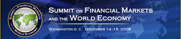 White House Summit on Financial Markets and the World Economy