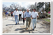Hurricane Katrina: Vice President and Mrs. Cheney's Visit
