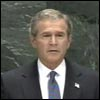 President Bush Addressing the UN