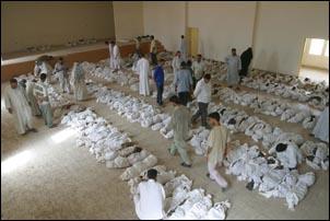 Saddam Hussein's alleged shredder